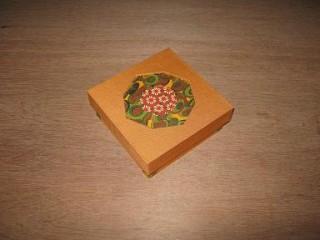Mola doos met Japans papier