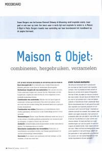 Artikel Home & Living Maison & Objet najaar 2011