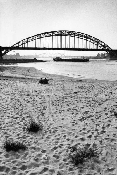 Laag water Waal 1991