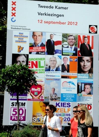 Verkiezingsbord 2012