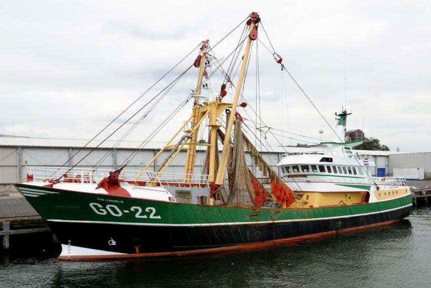 Vissersschip IJmuiden