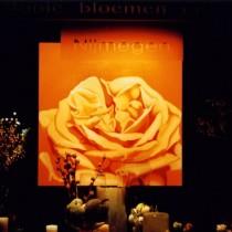 Schilderij etalage Jacco Otten mooie bloemen en... door Susan Burgers Element ontwerp & uitvoering