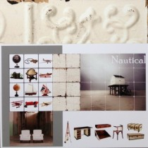 Serie moodboards stand Authentic Models