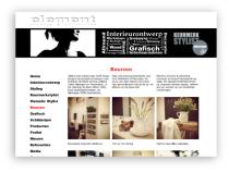 """Website Element ontwerp & uitvoering <a href=""""http://www.element-ontwerp.nl"""" target=""""_blank"""">Element</a>"""