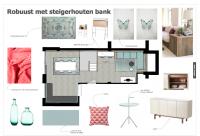 Interieurontwerp souterrain keuken en kinderhoek Nijmegen