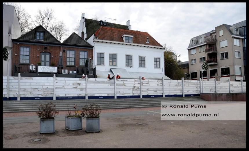 Waterkering Waalkade Nijmegen