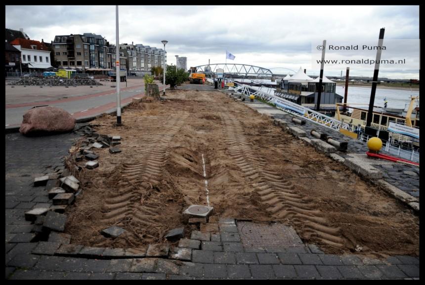 Renovatie Waalkade Nijmegen 2018