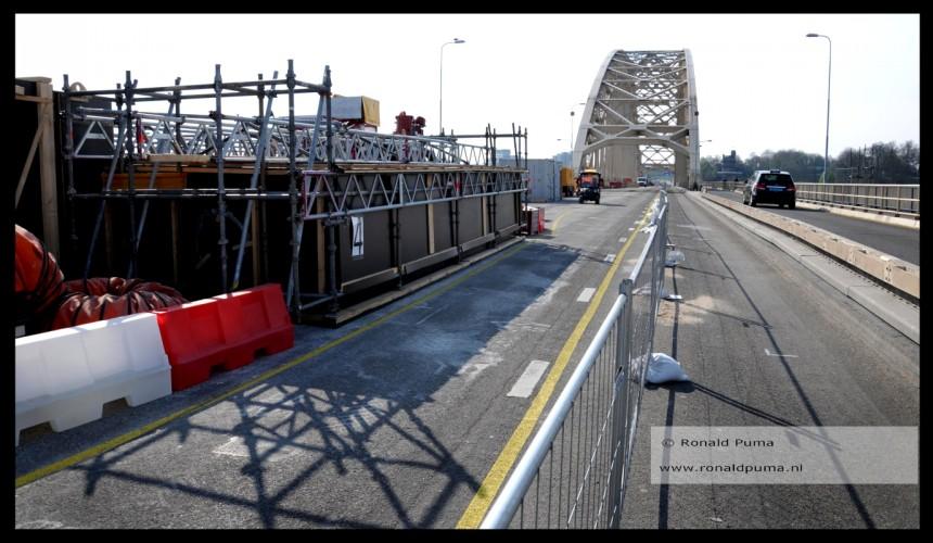 Renovatie Waalbrug Nijmegen 2019