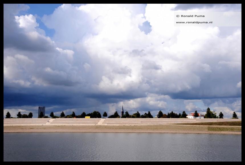 Clouds over Nijmegen Netherlands