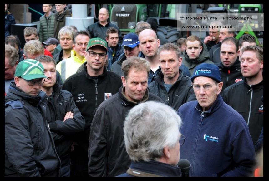 Boerenprotest Arnhem