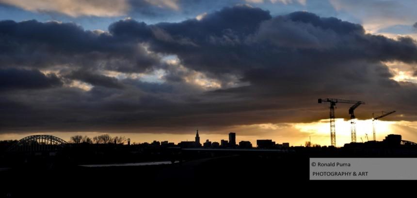 Sunset Nijmegen