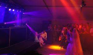 Luxe bruiloftshow